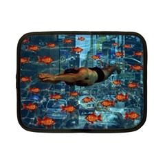 Urban Swimmers   Netbook Case (small)  by Valentinaart