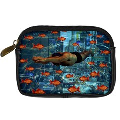 Urban Swimmers   Digital Camera Cases by Valentinaart