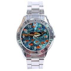 Urban Swimmers   Stainless Steel Analogue Watch by Valentinaart