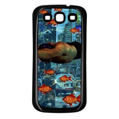 Urban Swimmers   Samsung Galaxy S3 Back Case (black) by Valentinaart