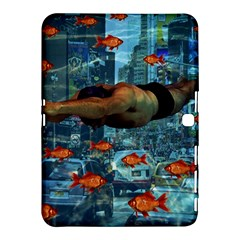 Urban Swimmers   Samsung Galaxy Tab 4 (10 1 ) Hardshell Case  by Valentinaart