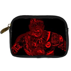 Warrior   Red Digital Camera Cases by Valentinaart