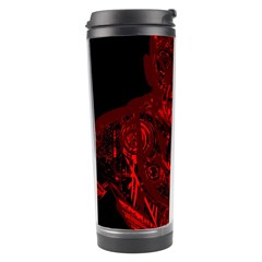 Warrior   Red Travel Tumbler by Valentinaart