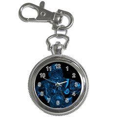 Warrior   Blue Key Chain Watches by Valentinaart