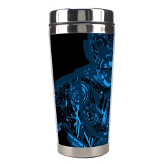 Warrior   Blue Stainless Steel Travel Tumblers by Valentinaart