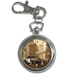 Vintage Old Car Key Chain Watches by Valentinaart