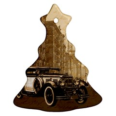 Vintage Old Car Ornament (christmas Tree)  by Valentinaart