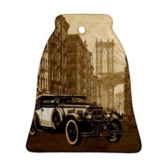 Vintage Old Car Ornament (bell) by Valentinaart