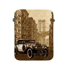 Vintage Old Car Apple Ipad 2/3/4 Protective Soft Cases by Valentinaart