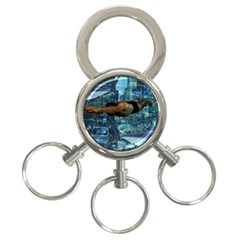 Urban Swimmers   3 Ring Key Chains by Valentinaart