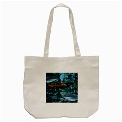 Urban Swimmers   Tote Bag (cream) by Valentinaart