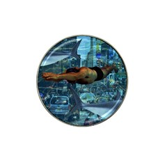 Urban Swimmers   Hat Clip Ball Marker by Valentinaart