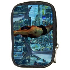 Urban Swimmers   Compact Camera Cases by Valentinaart