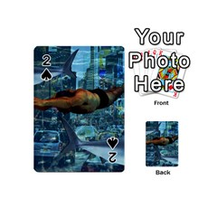 Urban Swimmers   Playing Cards 54 (mini)