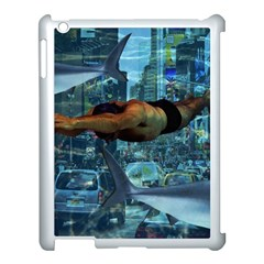 Urban Swimmers   Apple Ipad 3/4 Case (white) by Valentinaart