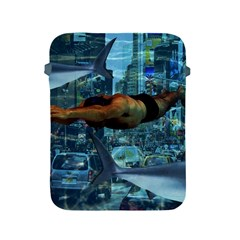 Urban Swimmers   Apple Ipad 2/3/4 Protective Soft Cases by Valentinaart
