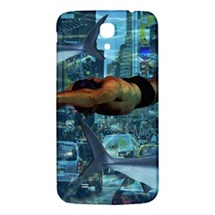 Urban Swimmers   Samsung Galaxy Mega I9200 Hardshell Back Case by Valentinaart