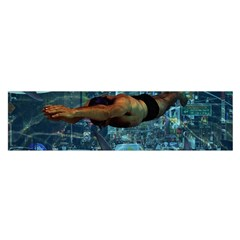 Urban Swimmers   Satin Scarf (oblong) by Valentinaart
