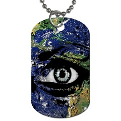Mother Earth  Dog Tag (two Sides) by Valentinaart