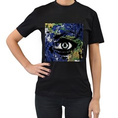 Mother Earth  Women s T Shirt (black) by Valentinaart