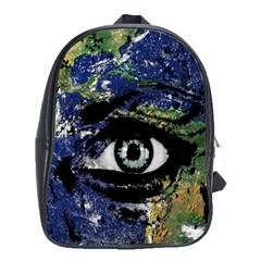 Mother Earth  School Bags(large)  by Valentinaart