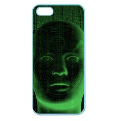 Code  Apple Seamless Iphone 5 Case (color) by Valentinaart
