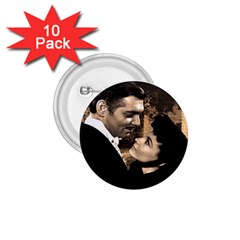 Gone With The Wind 1 75  Buttons (10 Pack) by Valentinaart