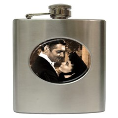 Gone With The Wind Hip Flask (6 Oz) by Valentinaart