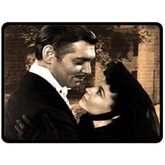 Gone With The Wind Double Sided Fleece Blanket (large)  by Valentinaart