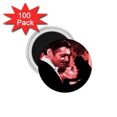 Gone With The Wind 1 75  Magnets (100 Pack)  by Valentinaart