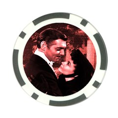 Gone With The Wind Poker Chip Card Guard by Valentinaart