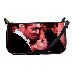 Gone With The Wind Shoulder Clutch Bags by Valentinaart