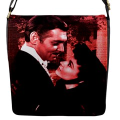 Gone With The Wind Flap Messenger Bag (s) by Valentinaart