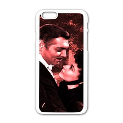 Gone With The Wind Apple Iphone 6/6s White Enamel Case by Valentinaart