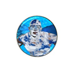 Swimming Angel Hat Clip Ball Marker by Valentinaart