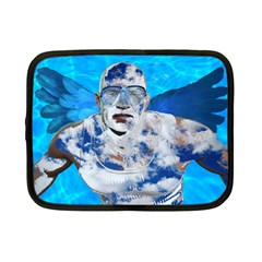 Swimming Angel Netbook Case (small)  by Valentinaart