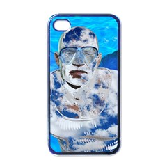 Swimming Angel Apple Iphone 4 Case (black) by Valentinaart