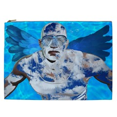 Swimming Angel Cosmetic Bag (xxl)  by Valentinaart