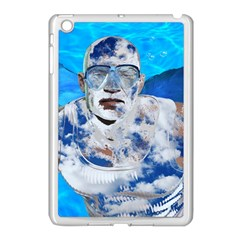 Swimming Angel Apple Ipad Mini Case (white) by Valentinaart