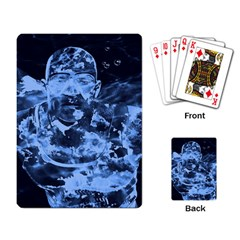 Blue Angel Playing Card