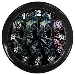 Cyber Kid Wall Clocks (black) by Valentinaart