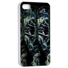 Cyber Kid Apple Iphone 4/4s Seamless Case (white) by Valentinaart