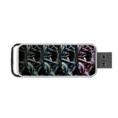 Cyber Kid Portable Usb Flash (one Side) by Valentinaart