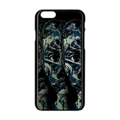 Cyber Kid Apple Iphone 6/6s Black Enamel Case by Valentinaart