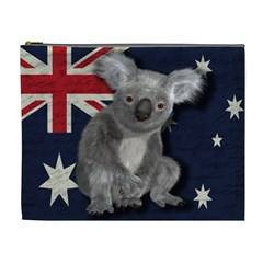 Australia  Cosmetic Bag (xl) by Valentinaart