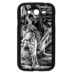 Gray Girl  Samsung Galaxy Grand Duos I9082 Case (black) by Valentinaart