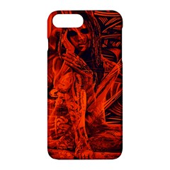 Red Girl Apple Iphone 7 Plus Hardshell Case by Valentinaart
