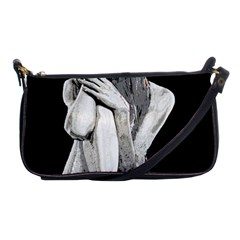 Stone Girl Shoulder Clutch Bags by Valentinaart