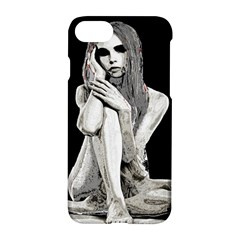 Stone Girl Apple Iphone 7 Hardshell Case by Valentinaart