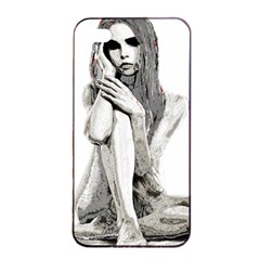 Stone Girl Apple Iphone 4/4s Seamless Case (black) by Valentinaart